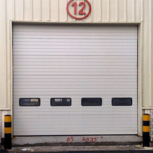 Fast Opening Warehouses Outer Steel Sectional Doors