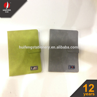 A4 A5 A6 A7 PU leather emboss cover notebook