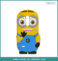 Fashion New Cute 3D Despicable Me Minion Case For LG G3