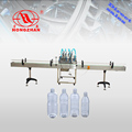 Water pneumatic piston-type automatic filling machine