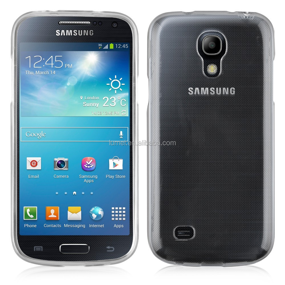 High Quality Gel Silicone Tpu Transparent Soft Skins Phone Case For Samsung Galaxy S4 Mini