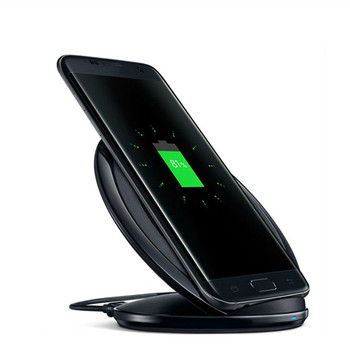 2018 hot sale in USA fast wireless charger for Samsung note5 S6 edge S9 NOTE 8 S8 wireless charger