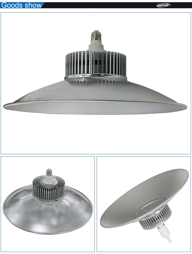 Hot sale high lumen waterproof E27 ultra thin 30 watt led high bay light