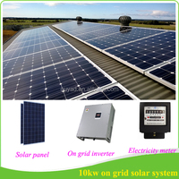 Easy Installation Good quality Solar Syste On Grid 10kw Solar Power System from Foshan