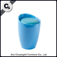 Colorful modern chair,plastic chair,low stool