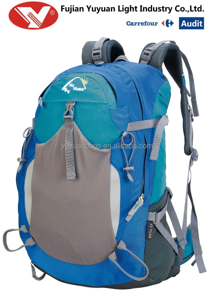 mountaineering backpack hiking bag manufacturer camping high quality outdoor bag mountaineering Quanzhou Travel bag(YE16006)