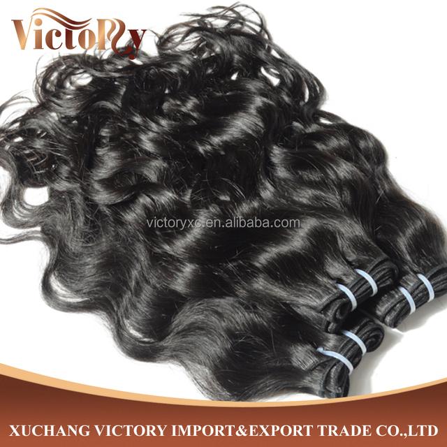 8A grade Human Hair Weave Peruvian Hair Water Wave Raw Hair