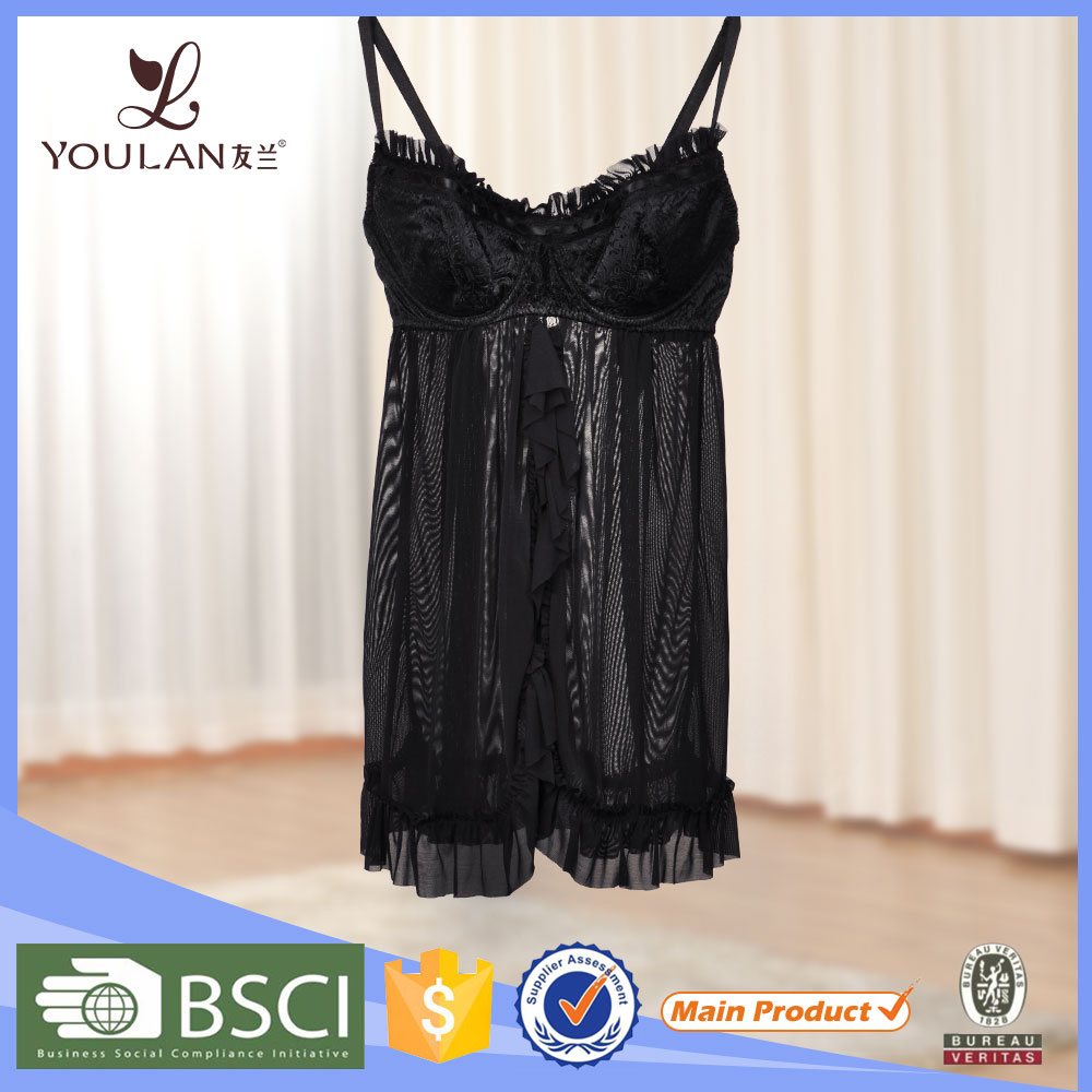 Manufacturer Graceful Sexy Girl Soft high quality women lingerie