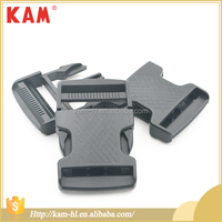 Custom side release clip plastic adjustable buckle