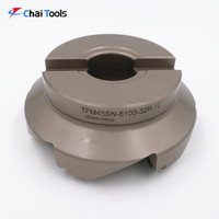 45 Degree CNC Indexable Face Milling