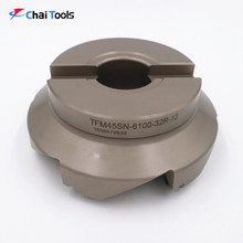 45 degree CNC Indexable face milling cutter with carbide insert SNKX