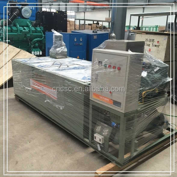Good quality factory directly sale ice block machine with crane
