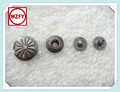 2014 High Quality Flower Metal Snap Button For Elegant Outerwear / Overcoat / Garment