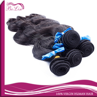 body wave natural color 12 14 16 18 virgin indian hair weft hot selling