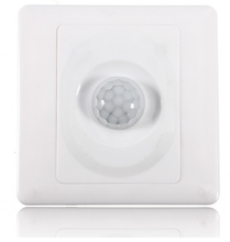 High Quality Hot Sale Infrared IR Body Motion Sensor Auto Wall Mount Control Led Light Switch For Incandescent Lamp