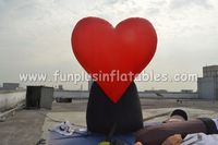 3.5m high inflatable heart love balloon hot selling price P5004(2)