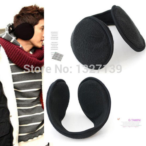 MOON BUNNY 2014 Women Men Winter Ear Warmers Behind the Ear Style Fleece Muffs Wholesale MOQ 1 set