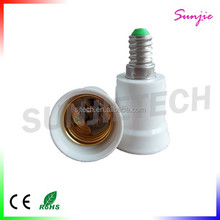 E14 to E27 lamp holder adapter