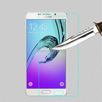 New Arrival tempered glass screen protector for samsung 2017 A5 with best price