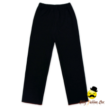 Wholesale Boutique Items Fall Winter Warm All Matching Plain Black Knitting Two Piece Baby Girl Leggings Clothing Set
