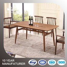 simple design hideaway dining table and chair set wood dining table
