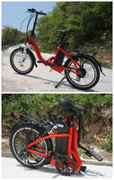 2015 hot selling Euro germany fast foldable electric bike