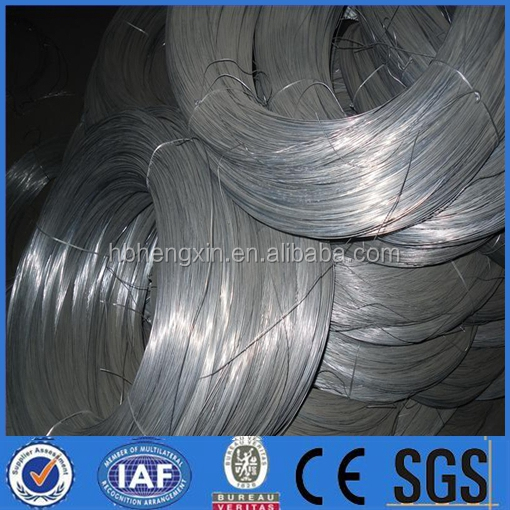Galvanized steel wire for ACSR, Wire Mesh,Fencing and Fish Net/Big coil galvanized iron wire