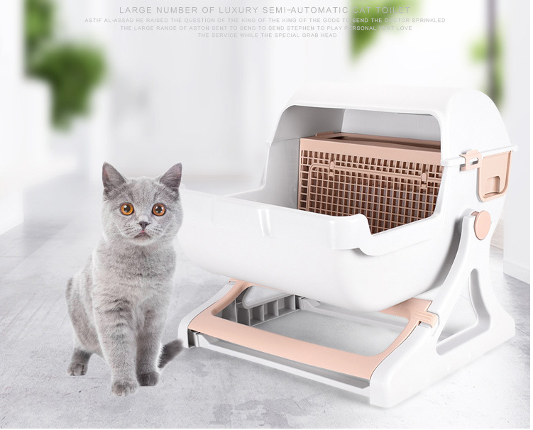 Petanted New Design cat Clean Up Products for pet cleaning cat litter box