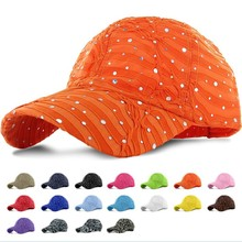 High Quality Custom New Model Men Sports Orange Baseball Caps