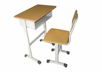 Foldable and portable study table and chair set furniture for students usage