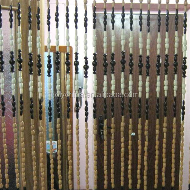 hot sale high quality wood beaded curtain