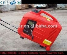 3.8Kva Portable Silent Gasoline Inverter Generator of Pure Sine Wave