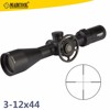 Marcool Scope Glass Etched Reticle 3-12x44 Side Wheel Focus Hunting Rifle Telescope