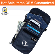 Rfid Neck Wallet Travel Navigator Neck Pouch and Passport Holder with RFID Blocking for Security