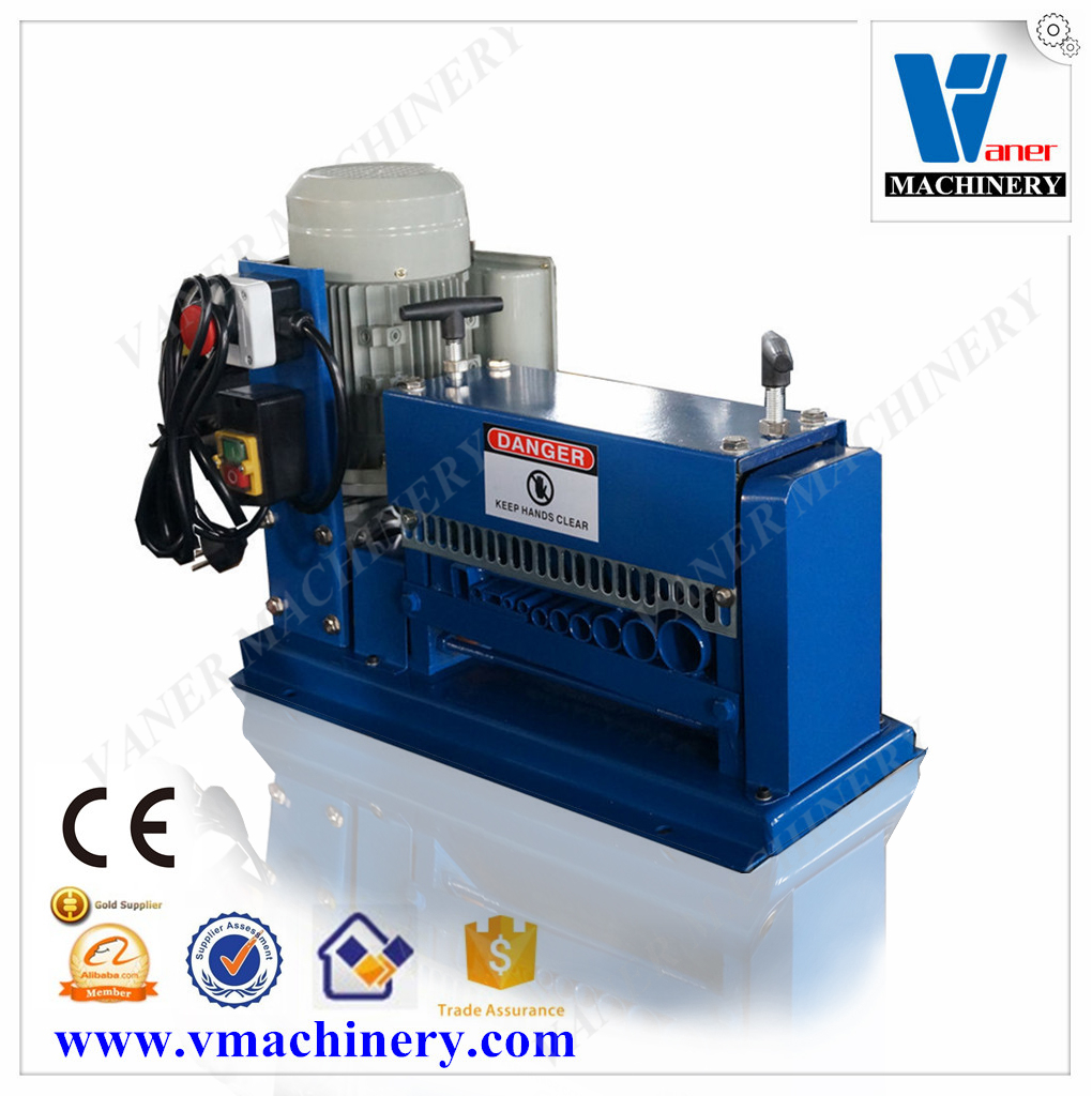cord peeling electric wire recycling machine