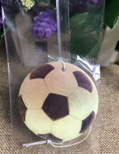 Football fans gifts wholesale top sale football car air fresheners with own logo