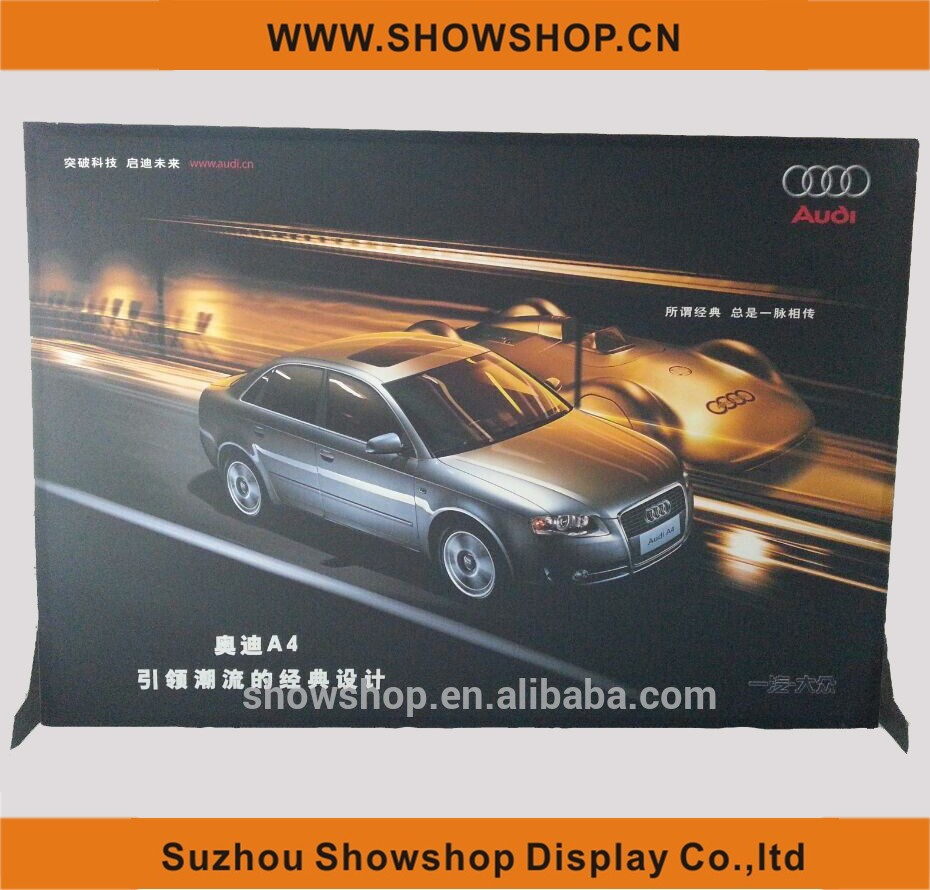 SMAX 3 Media Wall fabric tension display
