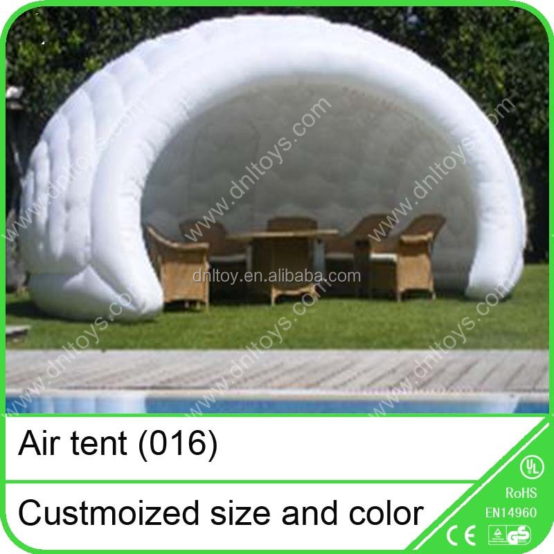 Quick up inflatable photo booth tent