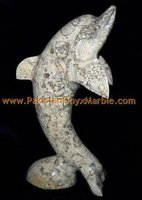CORAL CARVING FISHES