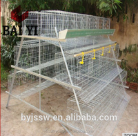 Folding Chicken Coop Cage System (Chinese Manufacturer)