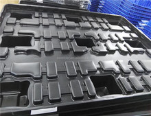 Produce Thermoforming Black Pallets