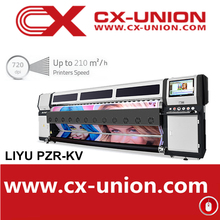 konica minolta 512i print head Solvent Liyu PZR-LV large format outdoor printer