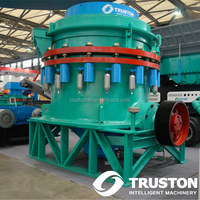 250 to 600 tph Multi-cylinder Hydraulic Standard Head Medium Type Cone Crushers for Mining