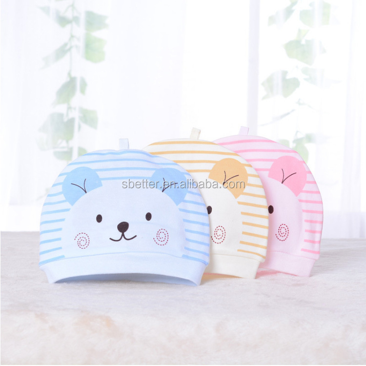 2018 newborn cap male and female baby cotton hat spring summer autumn hat