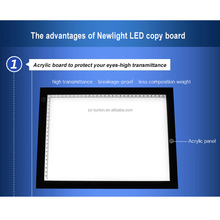 Ultra-thin high brightness adjustable LED copy board tracing light box