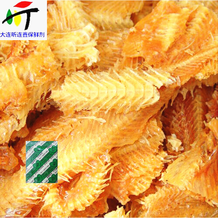 Hot sale the best oxygen absorber for dried fish factory direct price