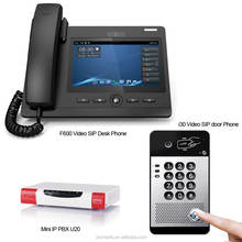 Office sip video door phone intercom system ip video door phone compatible with pbx