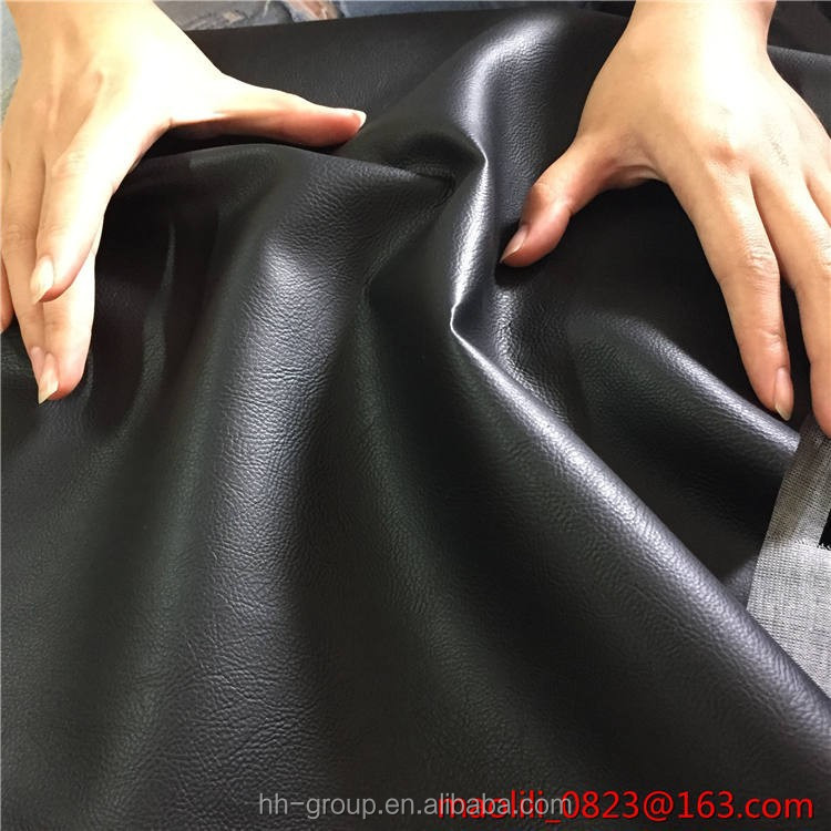 soft black antiscratch waterproof pvc <strong>leather</strong> for car seat for Australia