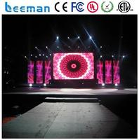 led video wall for live broadcast full color led display panel rgb p7.62