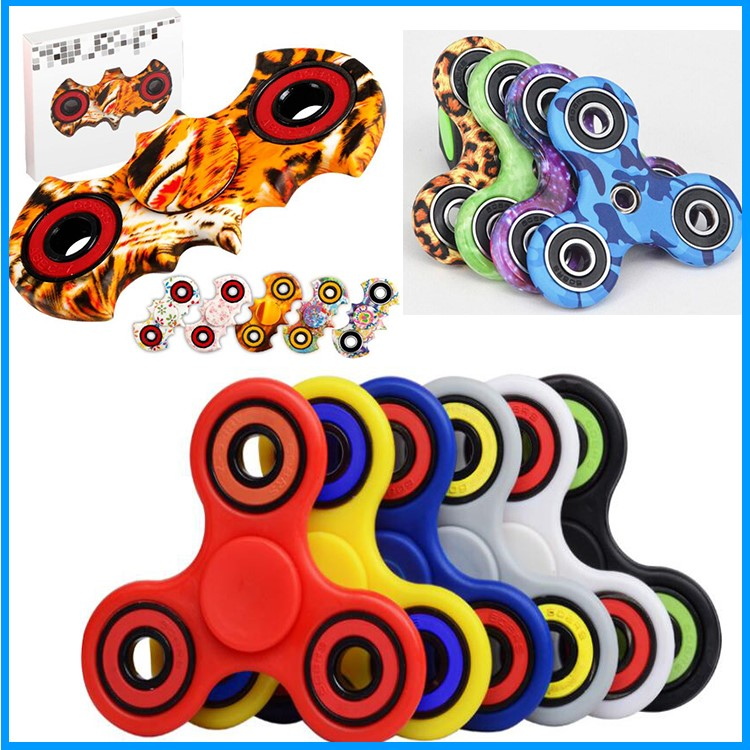 2017 Fashion cool Fidget Spinner Toy Anti Stress wholesale alloy Hand Spinners